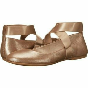 Jessica Simpson Mandays Rose Gold Ballet Flats